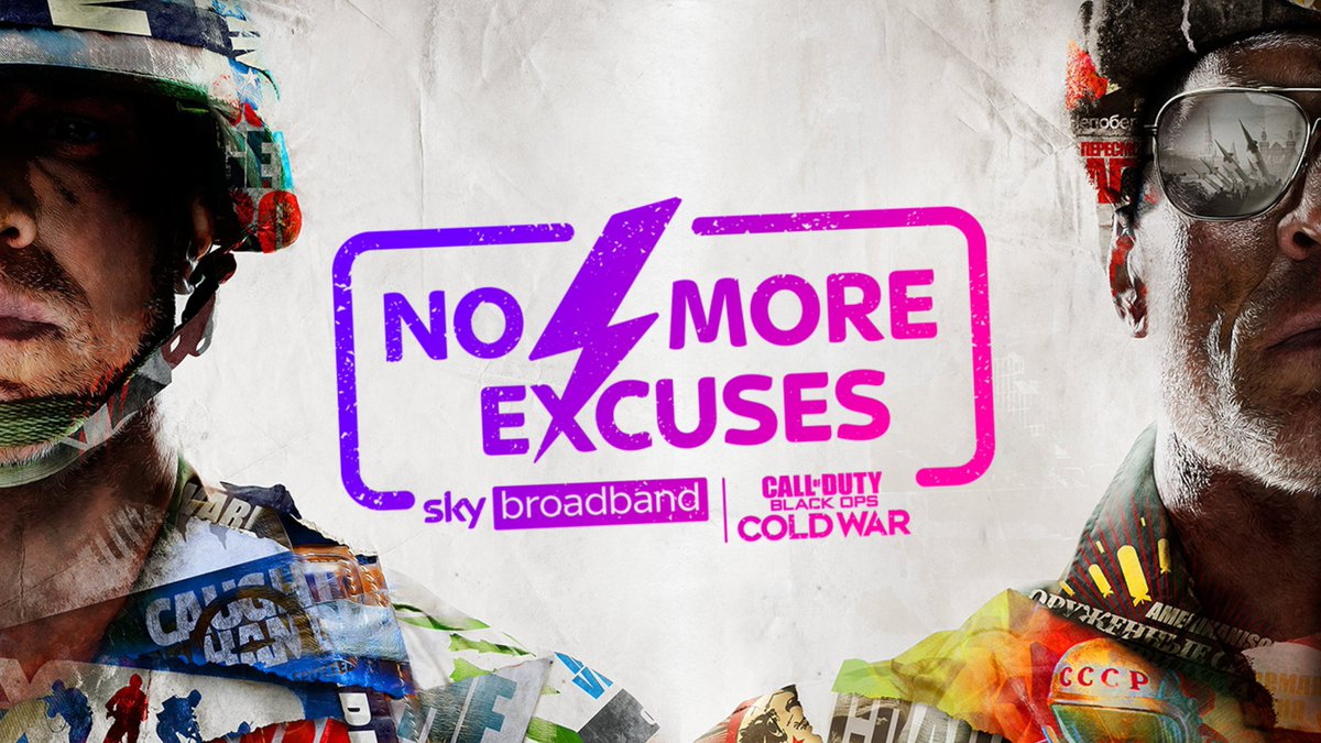 Image result for no more excuses sky cod black ops